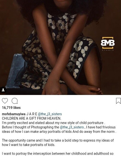 """This 5-year-old Nigerian child is being touted as the """"Most beautiful girl in the world"""""""
