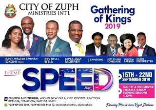 [EVENT]: GATHERING OF KINGS 2019 (CITY OF ZUPH MINISTRIES INT'L)