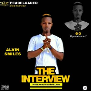 PEACELOADED BLOG INTERVIEW WITH ALVIN SMILES