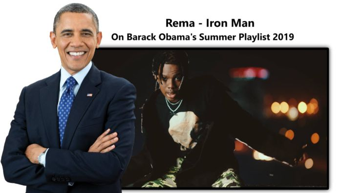 Rema & Barrack Obama