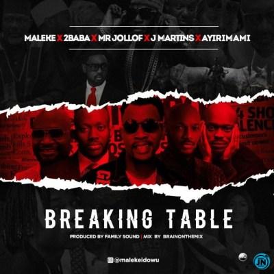 MALEKE FT 2BABA × MR JOLLOF × J MARTINS × AYIRIMAMI – BREAKING TABLE