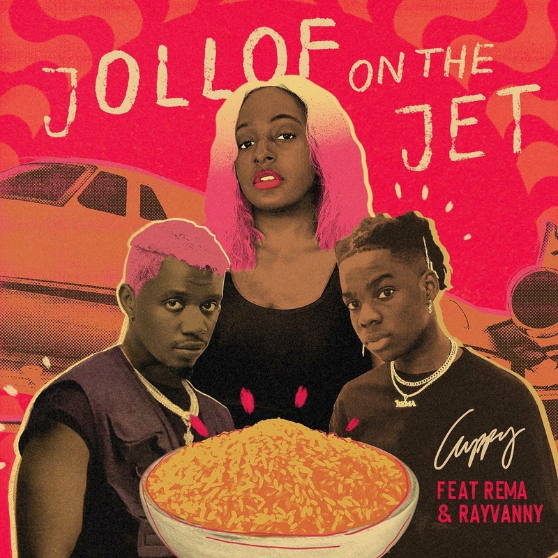 Cuppy Ft Rema & Rayvanny – Jollof on the Jet Mp3