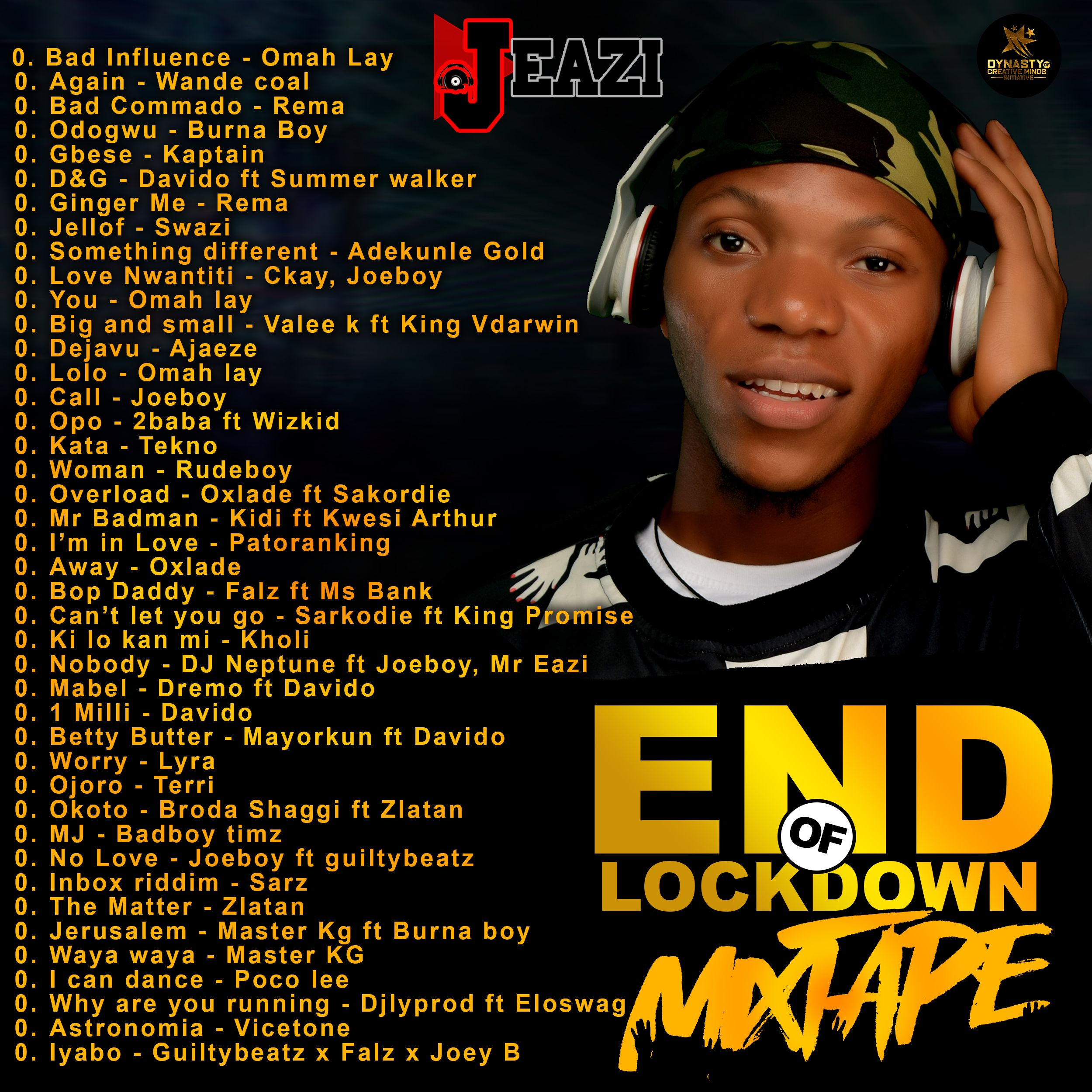 DJ Eazi – End Of Lockdown Mixtape Mp3