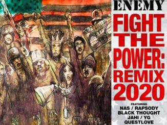 Public Enemy Ft Nas, YG, Rapsody, Black Thought, Jahi & Questlove – Fight The Power Remix Mp3