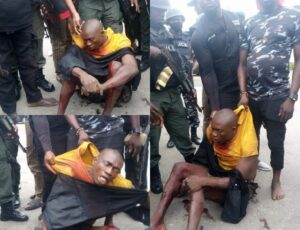 Dreaded kidnapper 'Bobosky'   Was Arrested By Rivers Police Today