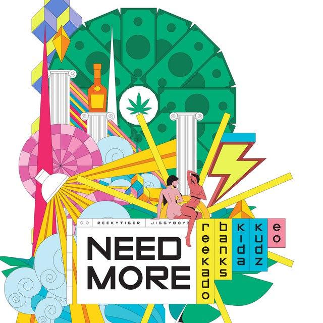 Reekado Banks Ft Kida Kudz & EO – Need More Mp3