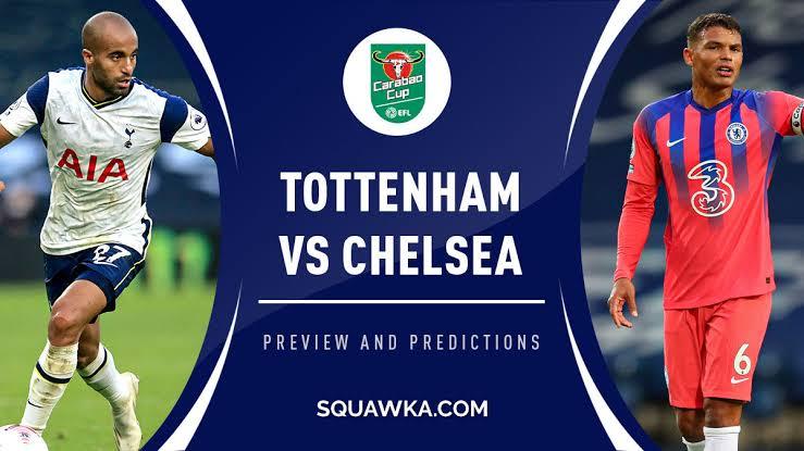 STREAM LIVE: Tottenham Vs Chelsea [Watch Now] CARABAO CUP 2020/2021