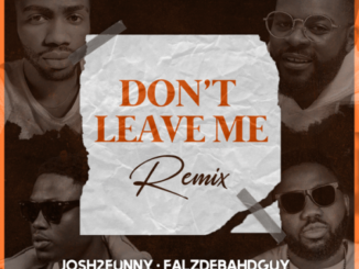 Josh2funny Ft Falz, Vector & Magnito – Don't Leave Me Remix Mp3