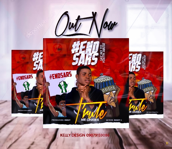 T'Rule – Say No To Youth Abuse #Endsars Mp3