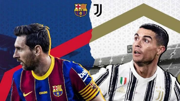 Juventus Barcelona 2021