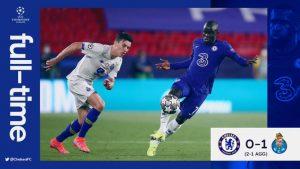 Chelsea vs FC Porto 0-1 – Highlights
