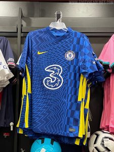 Chelsea's 2021-22 kit leaked and it looks very different to their current strip