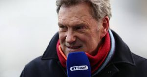 Ex-England manager Glenn Hoddle reacts to Chelsea draw with Real Madrid