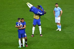 N'Golo Kante stays humble and 7 things spotted during Chelsea's Champions League celebrations