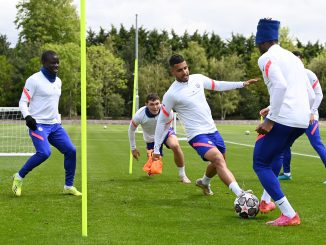 'The trophy is ours': Some Chelsea fans loved what they saw in training ahead of CL final
