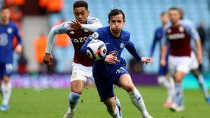 Chelsea secure top four despite defeat at Aston Villa