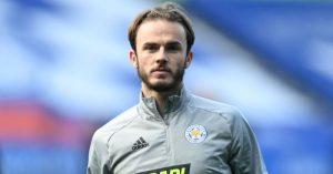 James Maddison sends message to Chelsea star amid Daniel Amartey touchline clash