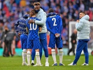 Tammy Abraham's reaction to Leicester FA Cup final defeat caught on camera