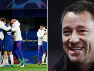 John Terry pays tribute to Chelsea star after Champions League win over Real Madrid