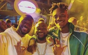 Chelsea Players Storm Lagos, Hangout With Davido