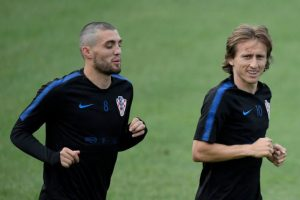 What happened between Luka Modric and Mateo Kovacic after Chelsea won the Champions League
