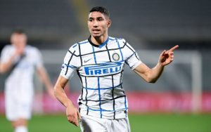 Chelsea suffer Achraf Hakimi blow as £60m transfer from Inter Milan 'nears conclusion'