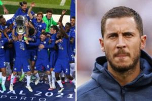 Eden Hazard makes honest admission about Chelsea's Champions League win