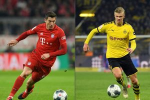 Erling Haaland has delivered verdict on Robert Lewandowski amid Chelsea transfer links