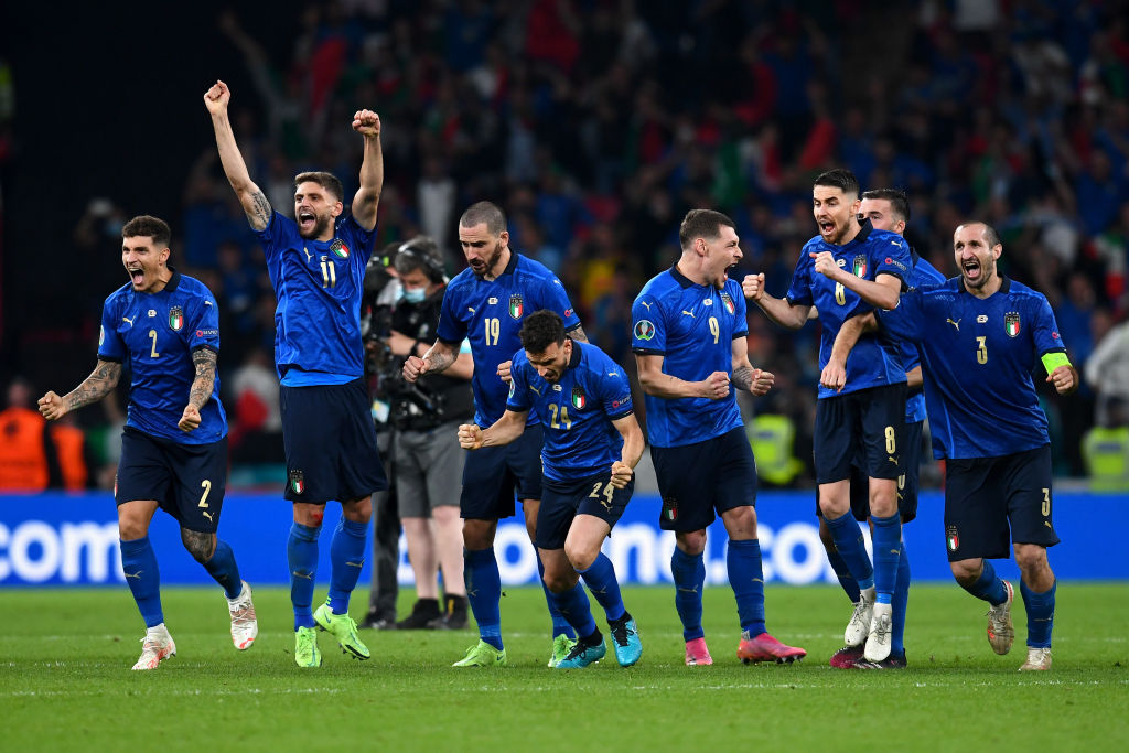 Italy wins Euro 2020 final, beats England in penalty shootout