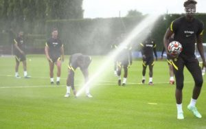 What happened between Tammy Abraham and Charly Musonda in Chelsea training session