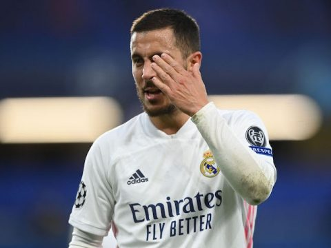 Report: Real Madrid forward Eden Hazard keen on Chelsea return two years after exit