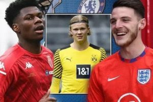 Chelsea's 'complete' Declan Rice alternative could help Thomas Tuchel sign Erling Haaland