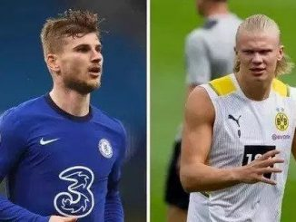 Chelsea transfer bid for Erling Haaland being complicated by 'desperate' Timo Werner