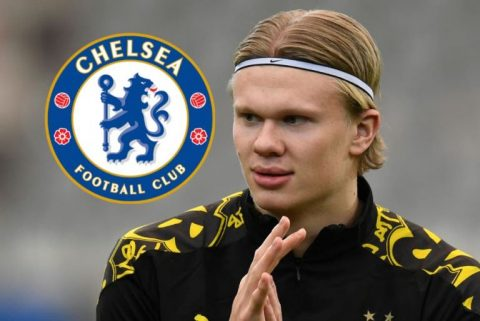 Erling Haaland's response when asked if he is staying at Dortmund will excite Chelsea fans
