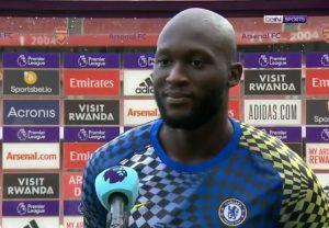 Romelu Lukaku's savage response to Arsenal transfer question