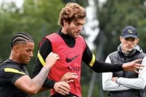 Thomas Tuchel promotes Chelsea wonderkid Frank Lampard signed into first-team training